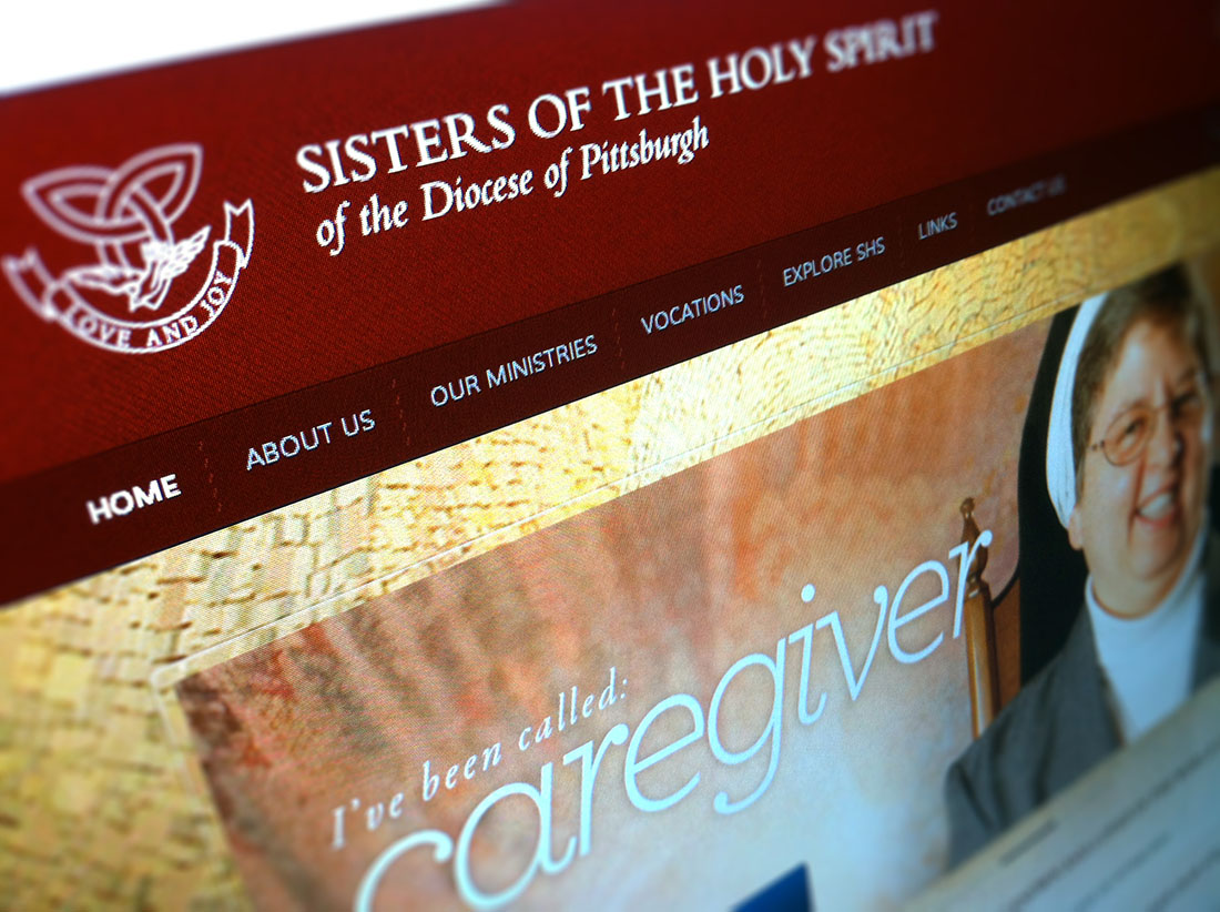 SHS Website redesign offers a generous feature space