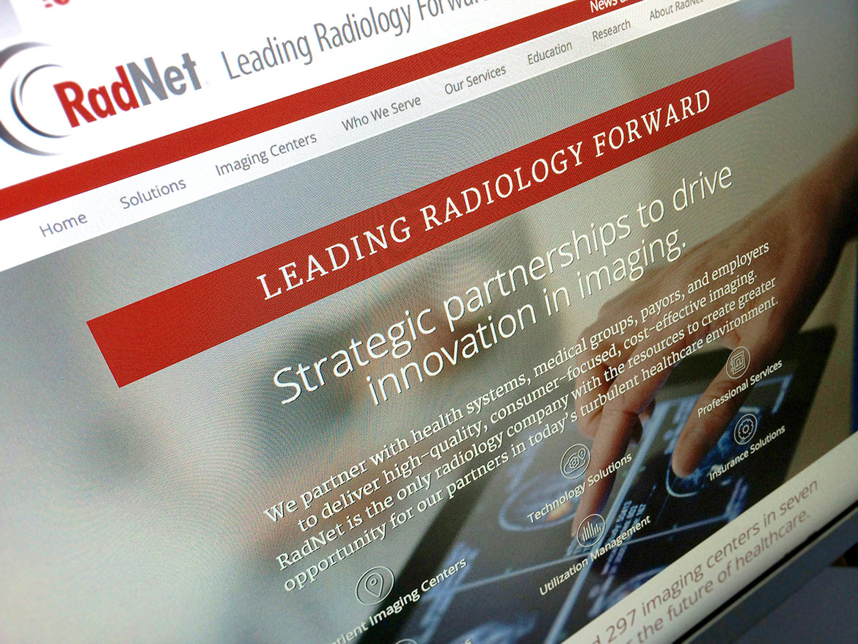RadNet Homepage Detail