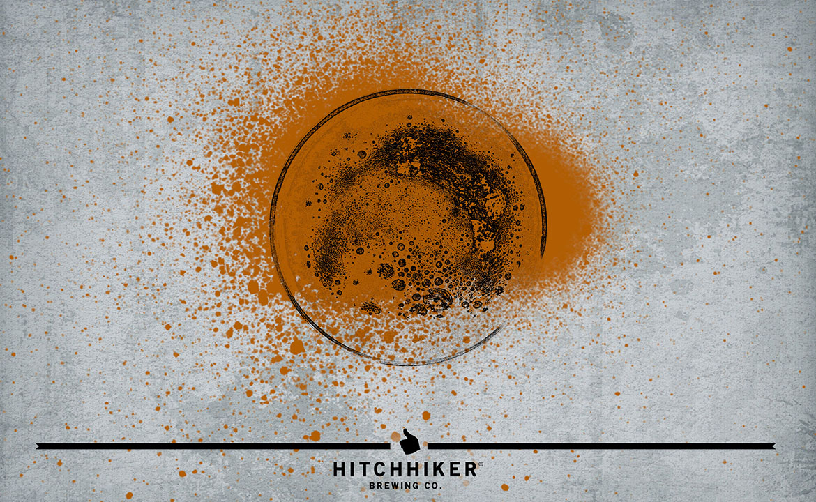 Hitchhiker Brewing Co. Can Labels